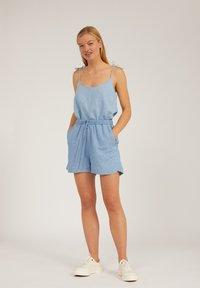 ARMEDANGELS - Denim shorts - foggy blue - 1