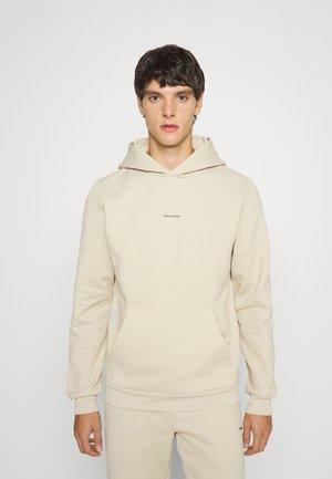 FLEEK HOODIE  - Sweatshirt - beige