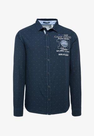 FIL À FIL JACQUARD HEMD - Shirt - blue navy