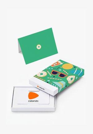 HAPPY BIRTHDAY - Karta upominkowa w pudełku - green