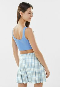 Bershka - BOX - Mini skirt - blue - 2