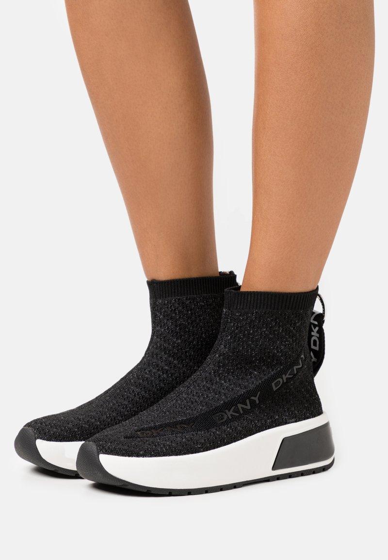 DKNY - DAWSON - High-top trainers - black