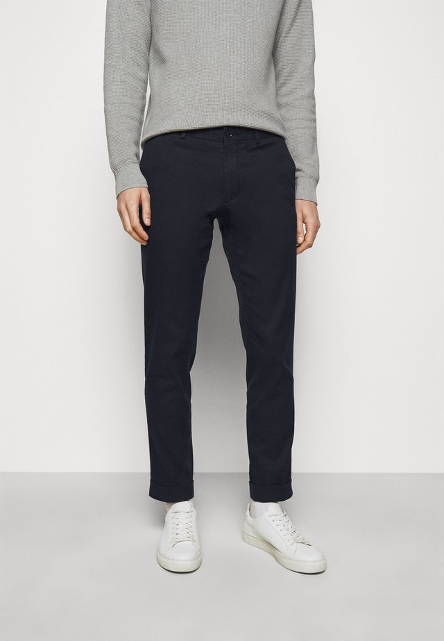 GRANT STRETCH PANTS - Chinos - navy