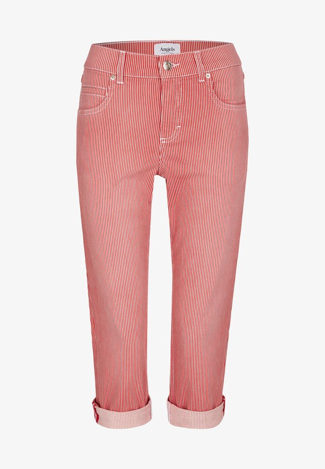 CICI TU - Denim shorts - rot