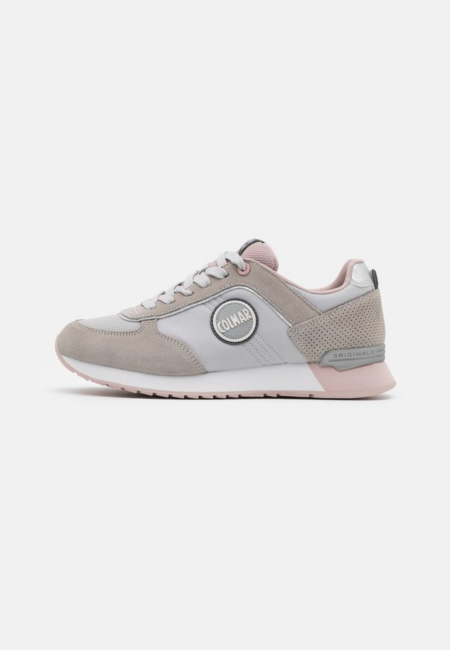 TRAVIS COLORS - Sneakers basse - light grey/lilac