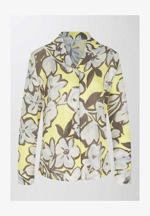 Pyjama top - pale lime