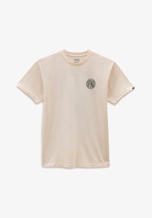 MN PLANTA SS - T-shirt imprimé - antique white