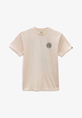 MN PLANTA SS - T-shirt med print - antique white