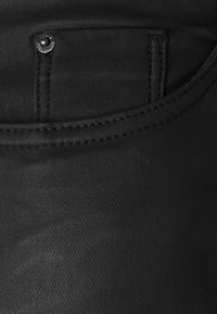 New Look Petite - COATED LIFT AND SHAPE SKINNY - Bukse - black - 5