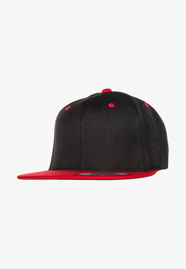 CLASSIC SNAPBACK 2-TONE - Lippalakki - black/red