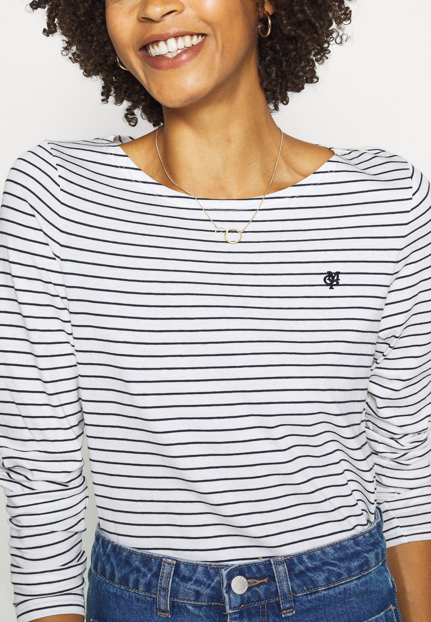 Marc O'Polo Maglietta a manica lunga - multi/regatta - Abbigliamento da donna Ordine