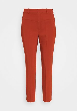 ZELLA HIGHWAIST PANT - Pantalones - cayenne