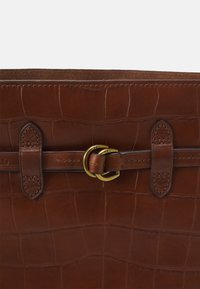 Polo Ralph Lauren - CROC SET - Across body bag - cuoio - 5
