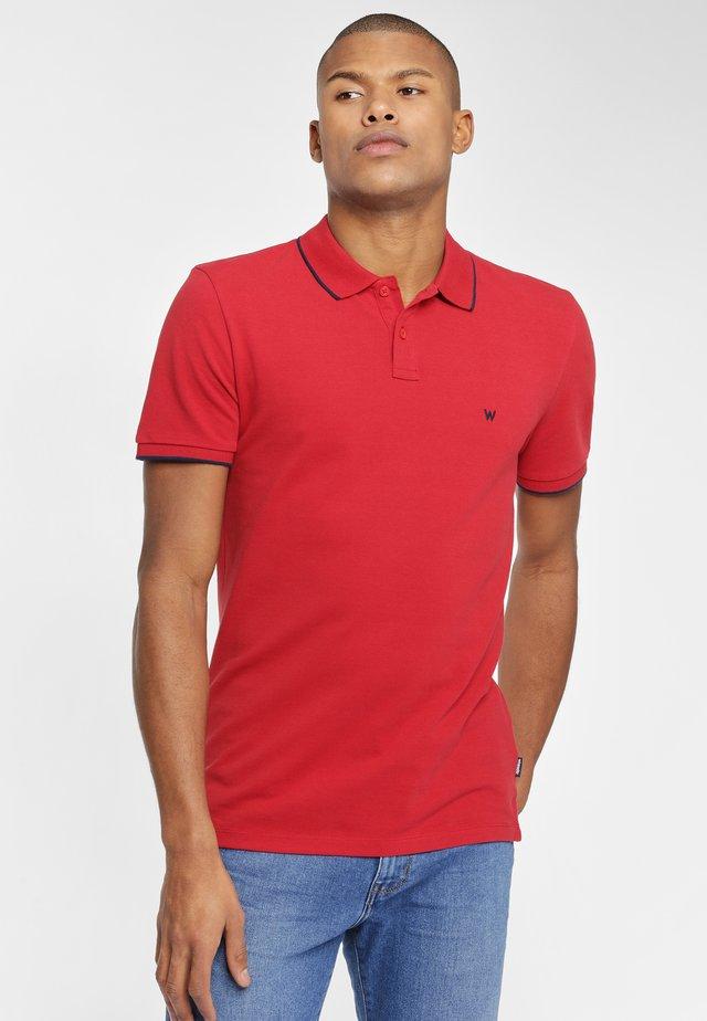 SS PIQUE - Koszulka polo - red