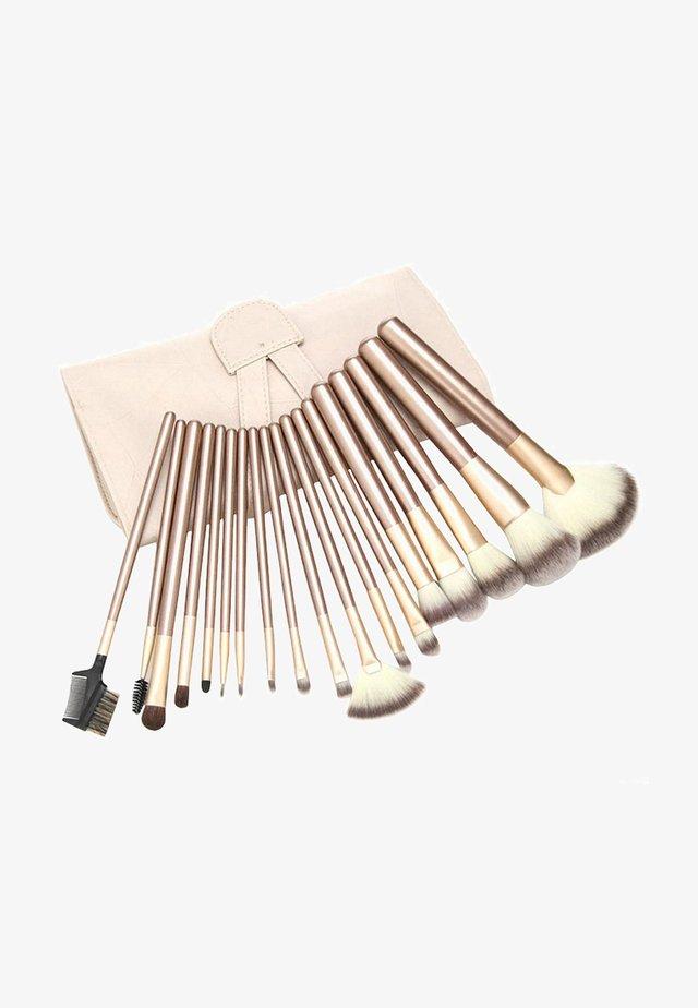 24 PIECE PROFESSIONAL MAKE-UP BRUSH SET - Makeupbørstesæt - beige
