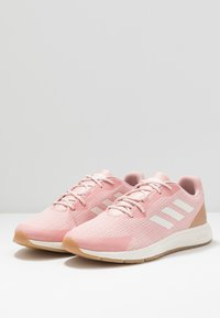 adidas Performance - SOORAJ - Neutral running shoes - pink spice/clear white/tagome - 2