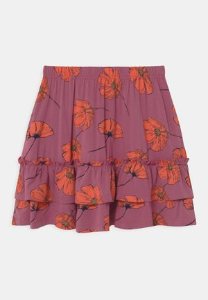 TRACY  - A-line skirt - heather rose