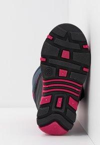 KangaROOS - BEAN II - Winter boots - dark navy/daisy pink - 5