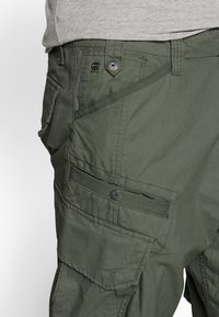 G-Star - DRONER RELAXED TAPERED CARGO PANT - Cargobroek - wild rovic - 3
