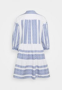 Marc O'Polo DENIM - WOVEN DRESSES - Day dress - White/ blue - 1