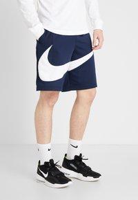 Nike Performance - DRY SHORT - Pantaloncini sportivi - obsidian/white - 0