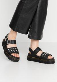 Dr. Martens - VOSS STUD - Platform sandals - black - 0