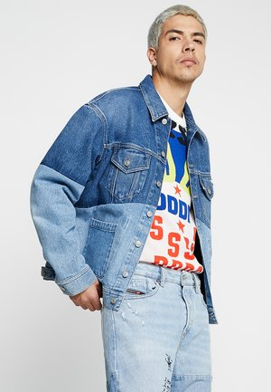 D-PUF JACKET - Denim jacket - indigo