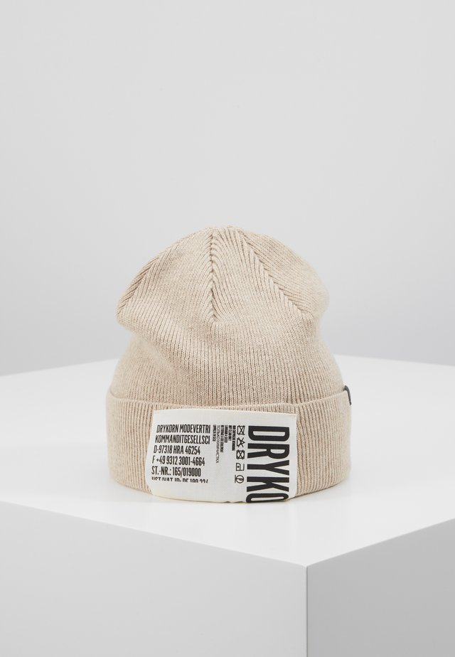 STOLLET - Mütze - beige