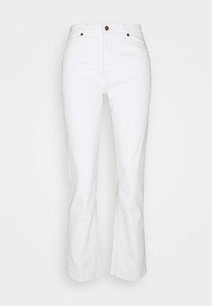 ADRINA MELANIE ANKLE PANTS - Flared jeans - vanilla ice