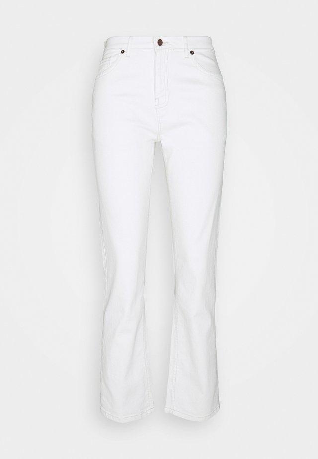 ADRINA MELANIE ANKLE PANTS - Jeans a zampa - vanilla ice