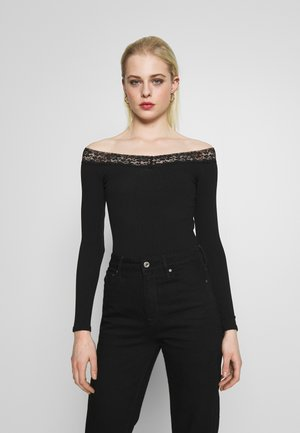 BARDOT BODY - Long sleeved top - black