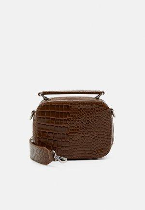 BLAZE CROCO - Handbag - brown