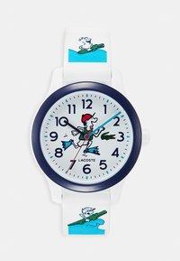 Lacoste - WATCH KIDS - Watch - weiss/blau - 0