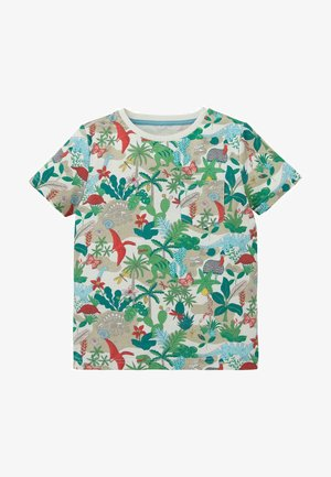 Print T-shirt - naturweiß, dinoinsel