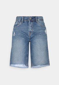 Pepe Jeans - VIOLET BERMUDA - Shorts di jeans - blue denim - 0