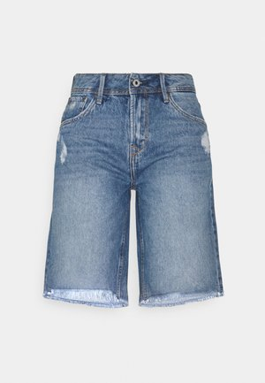 VIOLET BERMUDA - Shorts di jeans - blue denim