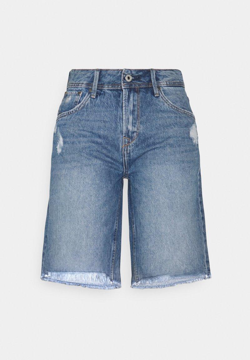 Pepe Jeans - VIOLET BERMUDA - Shorts di jeans - blue denim