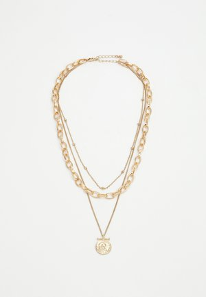 PCKETHIA COMBI NECKLACE - Smykke - gold-coloured