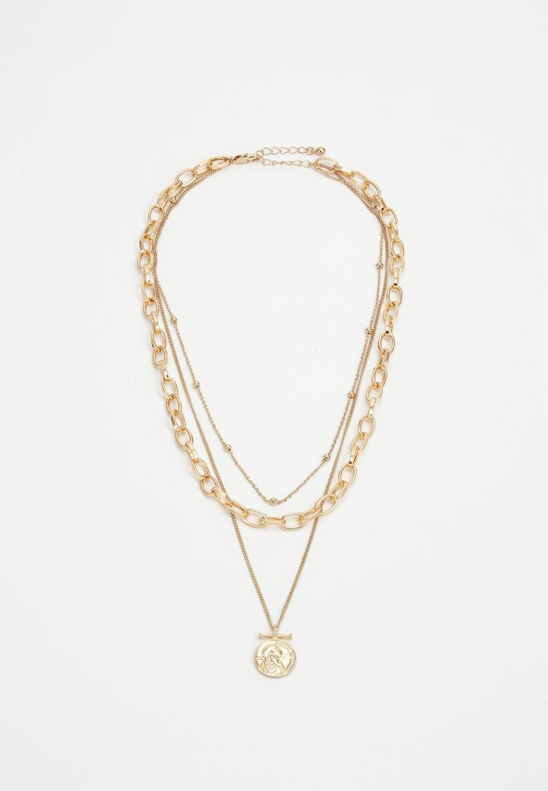 Pieces - PCKETHIA COMBI NECKLACE - Smykke - gold-coloured