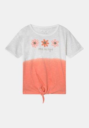 KID - Triko spotiskem - light orange