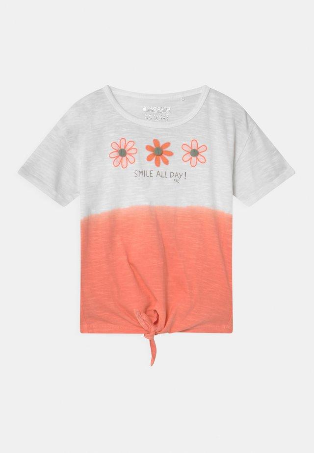 KID - Print T-shirt - light orange