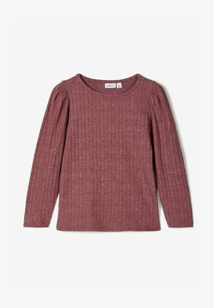 Long sleeved top - wild ginger