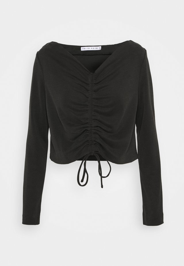 LURE IN - Long sleeved top - black