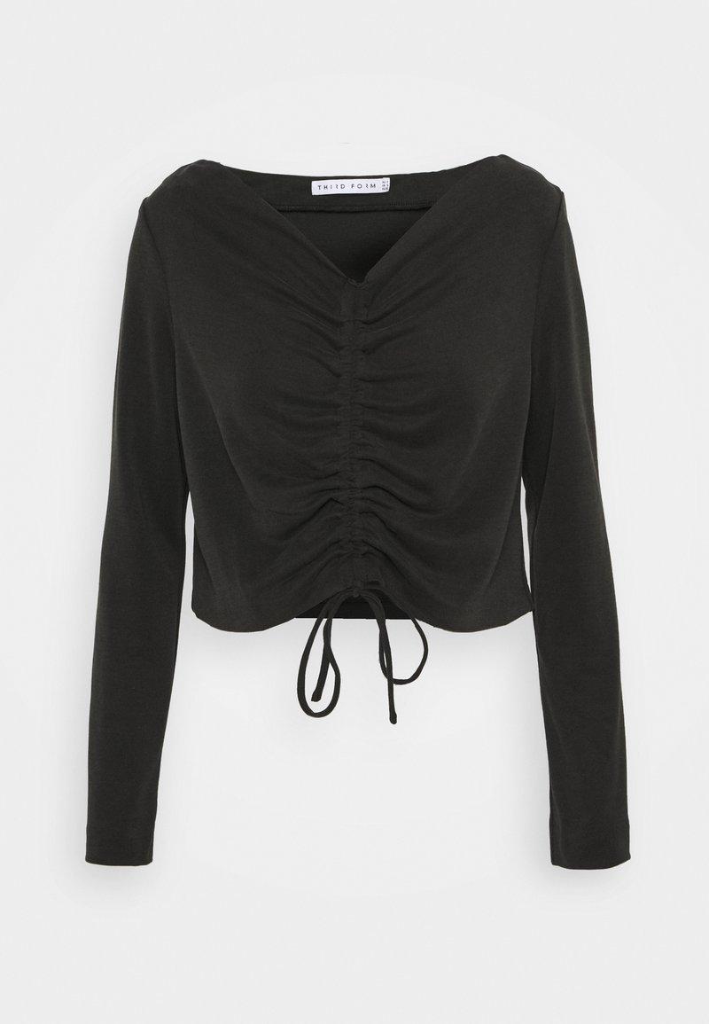 Third Form - LURE IN - T-shirt à manches longues - black