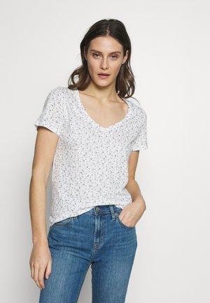 EASY - T-shirt z nadrukiem - milk