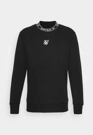 ESSENTIAL HIGH NECK - Felpa - black
