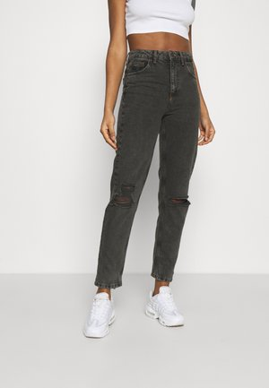 DESTROY MOM - Relaxed fit jeans - washed black