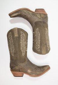 Kentucky's Western - Cowboy-/Bikerlaarzen - tint/olive - 1
