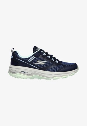 GO RUN TRAIL ALTITUDE - Neutral running shoes - navy / turquoise trim