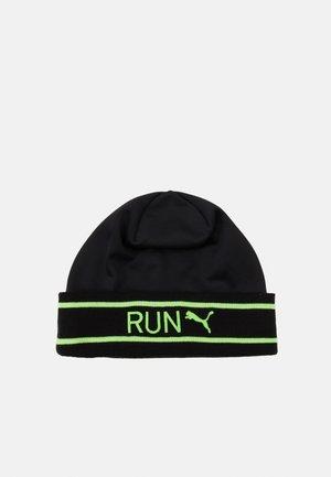 CLASSIC RUNNING CUFF BEANIE UNISEX - Čepice - black/green glare